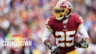 Randy Moss not happy that a RB leads Redskins in TD receptions | NFL Countdown | ESPN