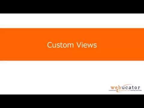Creating Custom Views in SharePoint 2013