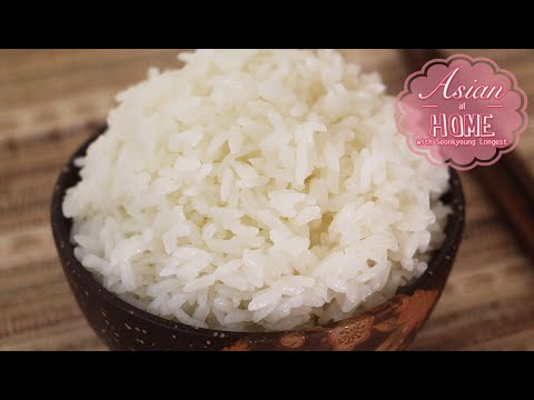 How to Cook Rice on Stove 냄비밥하기