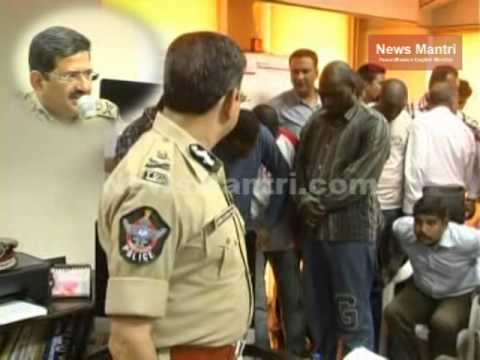 6 among 5 Nigerian Nationals arrested by Hyderabad Police in financial frauds