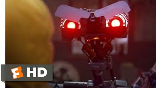 Short Circuit 2 (1988) - One Pissed-Off Robot Scene (4/10) | Movieclips