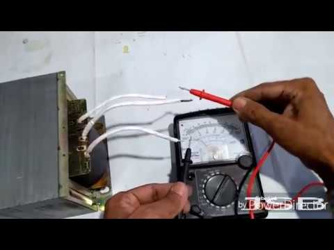 55-0-55 16 AMP Transformer Winding For DJ Sound System Easy At Home. YT-55