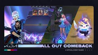 K/DA ALL OUT: Comeback   Official Event Teaser - Riot Games