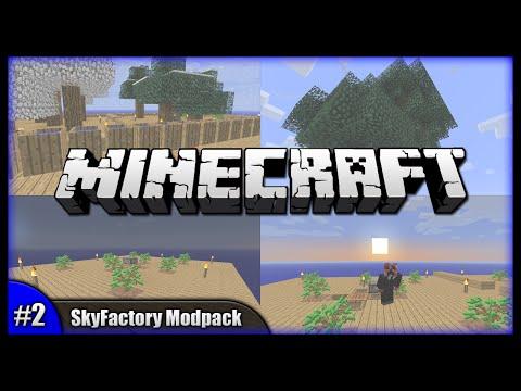 Barrels & Slab Furnaces! || Minecraft SkyFactory Modpack (Modded Minecraft) [Episode 2]