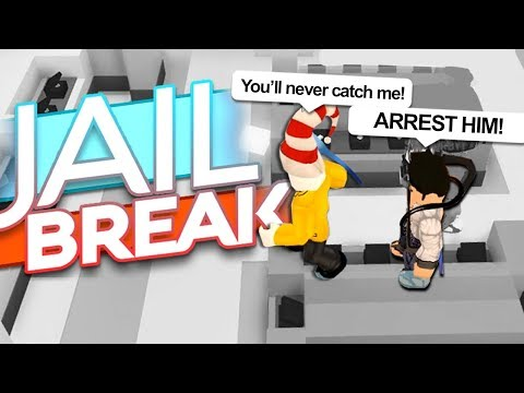 DO NOT GET ARRESTED CHALLENGE IN JAILBREAK..