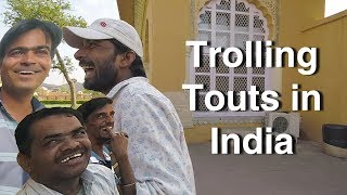Foreigner Trolling Indian Touts! Revenge 💯😈