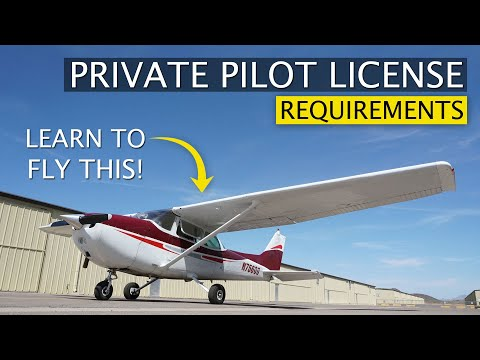 What Does It Take To Get Your Private Pilot License | FAA Requirements