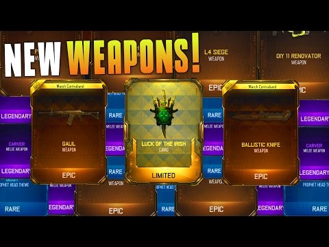 I GOT THE GALIL, BALLISTIC KNIFE, NEW CAMO, AND ALL OF THE GEAR! (BO3 Supply Drop Opening) MatMicMar