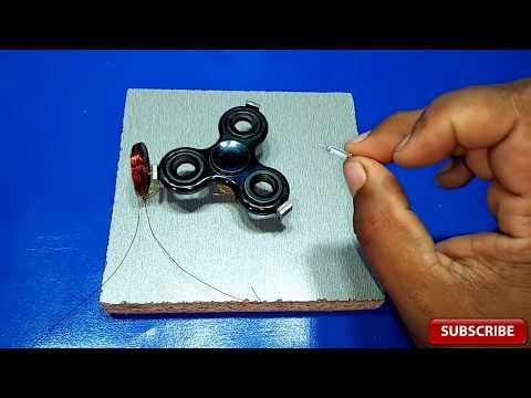 HOW TO MAKE A FIDGET SPINNER  Pulse Motor