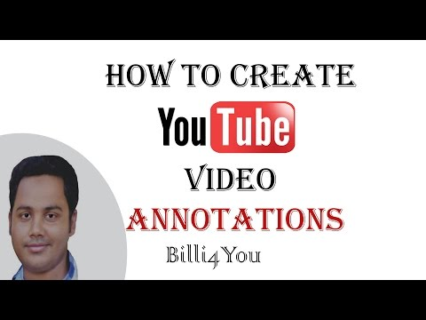 How To Add Annotations On Your YouTube Videos  And Get More Views       Hindi/Urdu