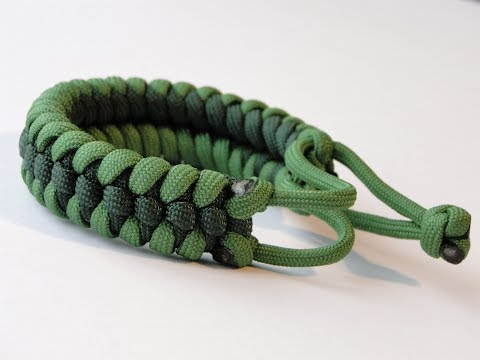 How to Make the Raid Knot Mad Max Style Paracord Survival Bracelet-Simplified 2 Strand Core