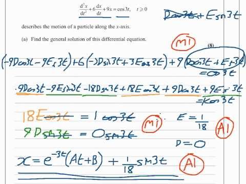 FP2 - June 2011 - Edexcel Further Pure 2 - Question 8