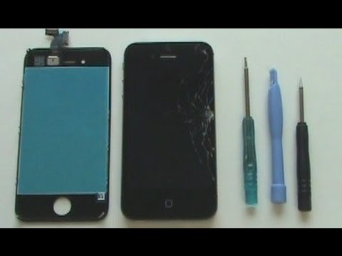 iPhone 4 Screen Repair Tutorial Verizon Sprint CDMA | GadgetMenders.com