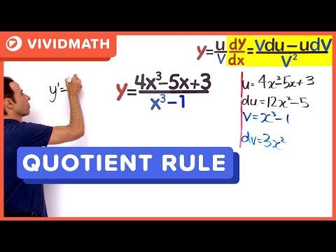 01 Quotient Rule 04 - VividMaths.com
