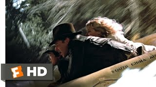 Indiana Jones and the Temple of Doom (2/10) Movie CLIP - Raft Jump (1984) HD