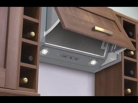 Integrated Kitchen Extractor - Luxair Cooker Hoods