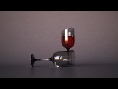 3ds max vray- realistic glass