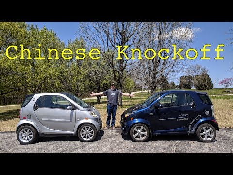 This is How Similar a Wheego is to a Smart ForTwo