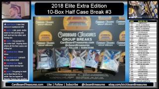 2018 Panini Elite Extra Edition Baseball Half Case Break #1