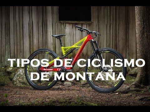 Tipos de Ciclismo de Montaña
