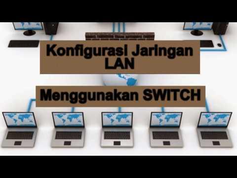 Konfigurasi IP Address pada Jaringan LAN dengan switch