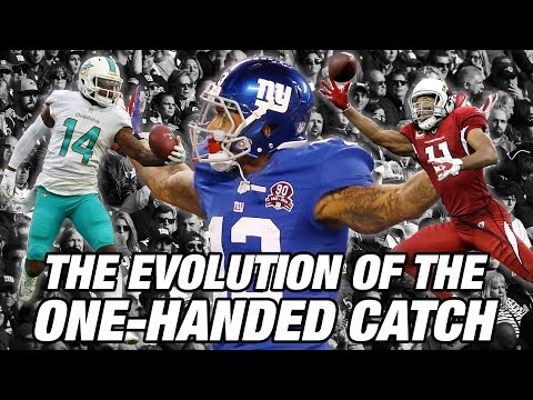 The Evolution of the One-Handed Catch   NFL Films Presents