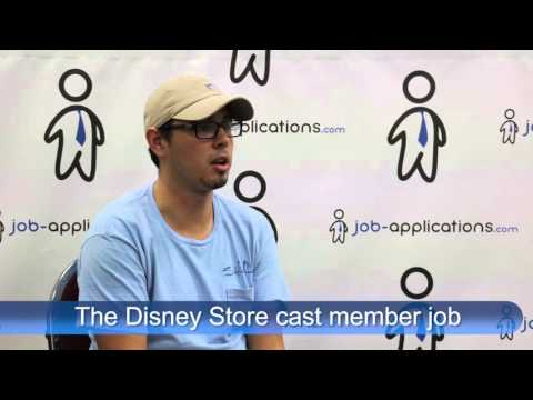 The Disney Store Interview - Cast Member