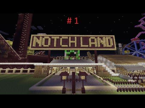 Minecraft Maps - Notchland PC #1 | Romania