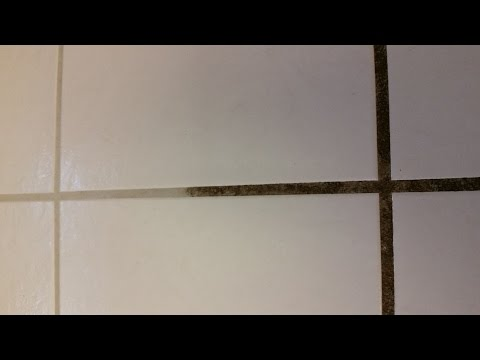 How to clean dirty grout lines the simple way by Dahlia.