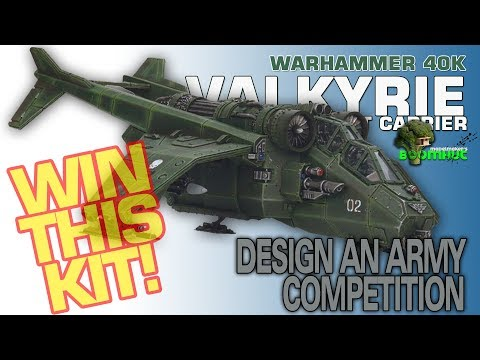 WIN! Warhammer 40K Valkyrie KIT GIVEAWAY!
