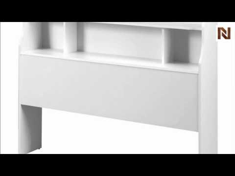 Nexera Dixie Full Size Bookcase Headboard 315303