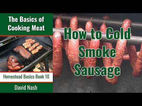 Recipe Cold Smoking Sausage