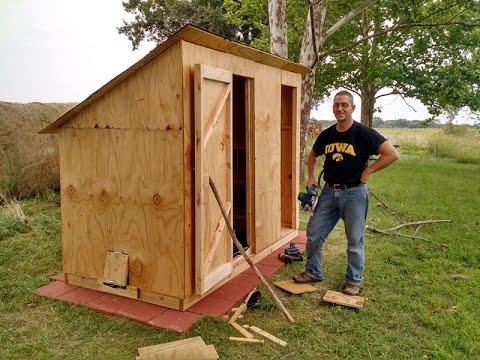 Predator-proof Chicken House and Coop Design- (Please visit updated link)
