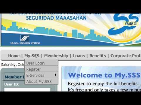 My SSS Online Registration