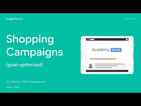 Academy on Air: Shopping Campaigns  07/06/2018