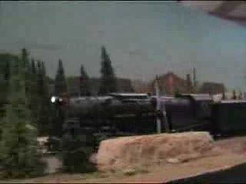 LBTA - Pennsy M1 & J1 double-header - HO model railroad