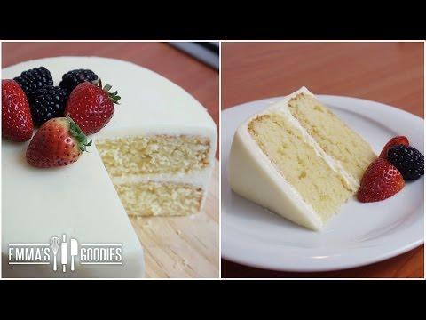 Moist Vanilla Cake Recipe