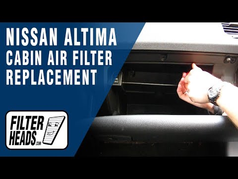 How to Replace Cabin Air Filter 2011 Nissan Altima