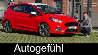 Ford Fiesta ST-Line FULL REVIEW & Fiesta ST Preview all-new generation 2018 neu- Autogefühl