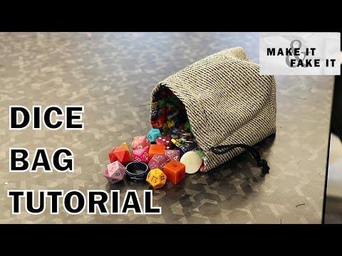 Dice Bag Sewing Tutorial