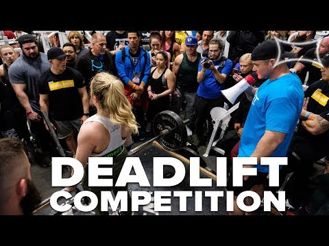 Quest Deadlift Competition | AS MANY REPS AS POSSIBLE!