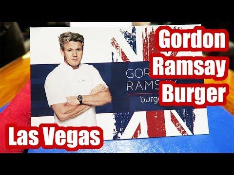 Gordon Ramsay Burger Review, Planet Hollywood Casino, Las Vegas, Nevada, 2018!
