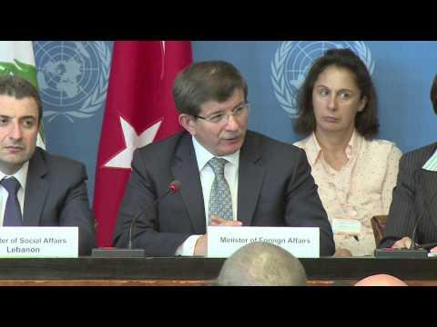 WorldLeadersTV: SYRIAN REFUGEE CRISIS: JORDAN, TURKEY, IRAQ, LEBANON MINISTERS MEET in GENEVA: UNHCR