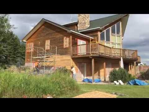 Cedar Siding and Deck Restoration Part 1
