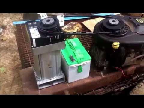 DIY custom 10,000 watt generator update.