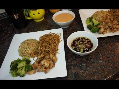 Hibachi Style Dinner at Home