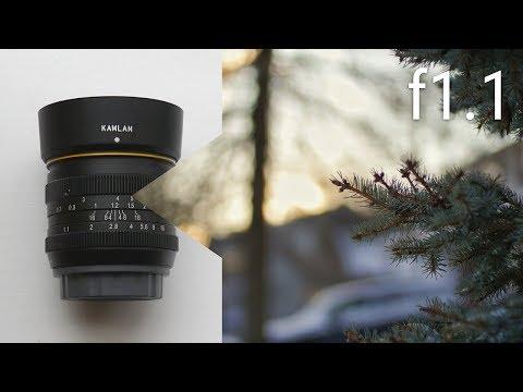 $150 f1.1 Prime Lens! - Cheap Bokeh Lens for Micro 4/3rds, Sony E-Mount, Fujifilm X, Canon EOS-M