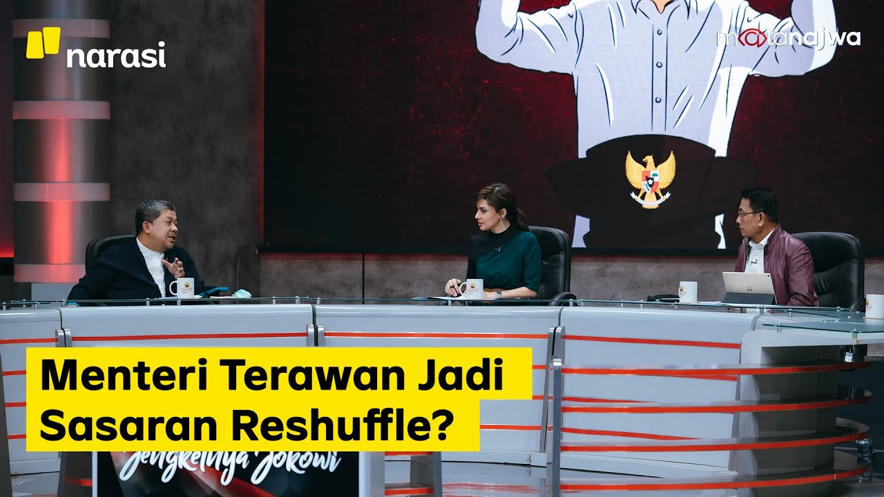 Di Balik Jengkelnya Jokowi: Menteri Terawan Jadi Sasaran Reshuffle? (Part 5) | Mata Najwa