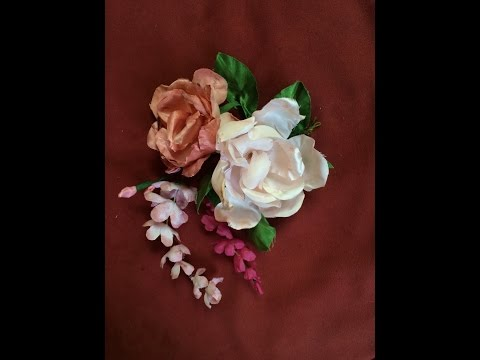 How to Make Fabric Flowers (3/5)