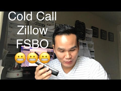 Live Cold Call Zillow: For Sale By Owner (FSBO)- Wholesaling Houses 1on 1